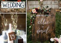 Como hacer carteles para bodas, Viual Store