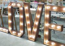 Letras love luminosas, Viual Store