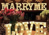 Letras luminosas boda, Viual Store