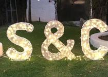 Letras luminosas para bodas, Viual Store