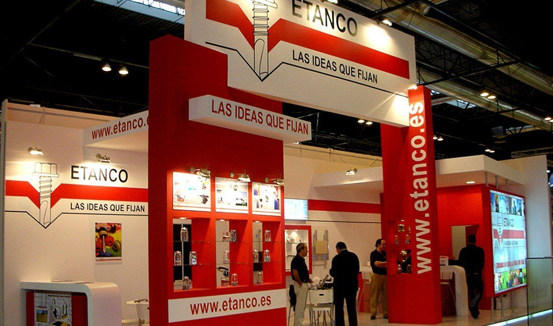 Stands en Madrid Etanco