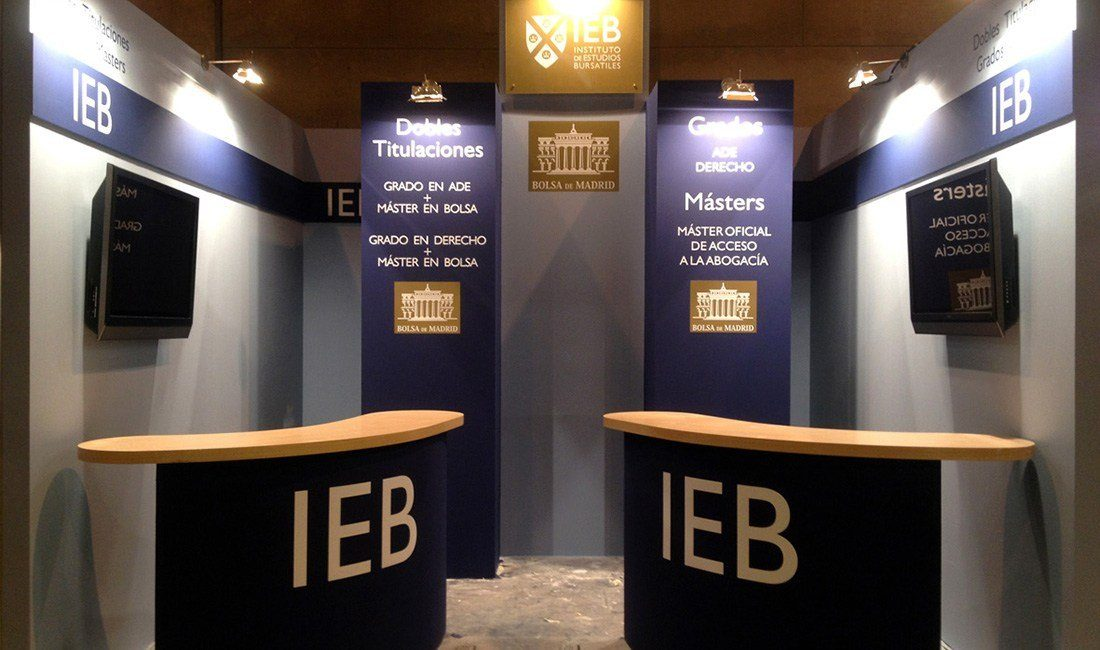 Stands en Madrid IEB